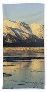 Turnagain Arm And Kenai Mountains Alaska Bath Towel
