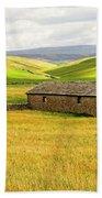 Yorkshire Dales Landscape Bath Towel