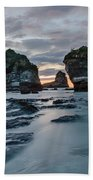 Motukiekie Beach - New Zealand Bath Towel