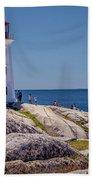 Peggys Cove Lighthouse Hand Towel