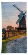 Wilton Windmill - England Bath Towel