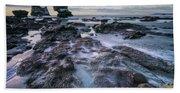 Motukiekie Beach - New Zealand Hand Towel