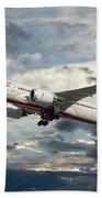Air India Boeing 787-8 Dreamliner Bath Towel