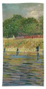 Bank Of The Seine Bath Towel