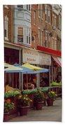 9th Street Italian Maket In South Philadelphia Bath Towel