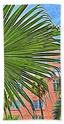 A Don Cesar Palm Frond Bath Towel