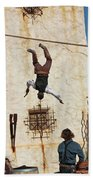 A Pair Of Stuntmen Perform At Old Tucson Bath Towel