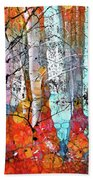 A Party In The Forest Bath Towel