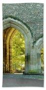 Abbey Gateway St Albans Hertfordshire Bath Towel