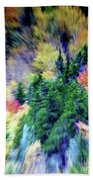 Abstract Forest Photography 5501d3 Hand Towel by Ricardos Creations