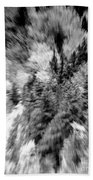Abstract Forest Photography 5501e3 Hand Towel by Ricardos Creations
