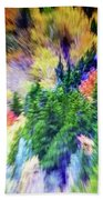 Abstract Forest Photography 5501f1 Hand Towel by Ricardos Creations