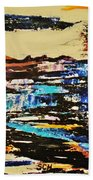 Abstract Nature Hand Towel