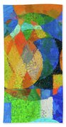 Abstract Number 59 Bath Towel by Dan Sproul