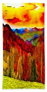 Abstract Scenic 3 Hand Towel