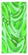 Abstract Waves Painting 0010086 Hand Towel