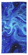 Acrylic Galaxy Painting Hand Towel