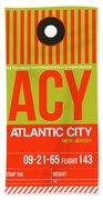 Acy Atlantic City Luggage Tag I Hand Towel