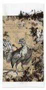 Adam Lonitzer 1593, Barlow 1690 Bath Towel