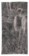 After Billy Childish Pencil Drawing 37 Greeting Card for ...