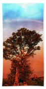 After The Storm, California Foothills                        Bath Towel