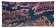 Air View Of Lake Powell Hand Towel