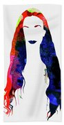 Alanis Watercolor II Bath Towel