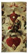 Allegory Of The Holy Eucharist Bath Towel