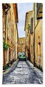 Alley In Avignon Bath Towel