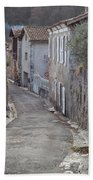 Alleyway In South France Hand Towel by Perry Rodriguez