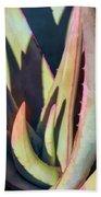 Aloe Intrigue Bath Towel by Leda Robertson