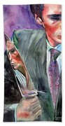 American Psycho Painting Hand Towel