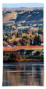 Apple Country Along The Columbia River Bath Towel