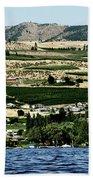 Apple Farming On The Hills Of Wenatchee Bath Towel
