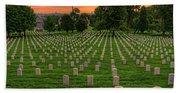 Arlington National Cemetery Sunrise Bath Towel