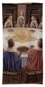 Arthurian Legend, The Knights Of The Round Table Bath Towel