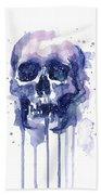 Space Skull Bath Towel