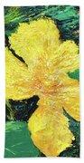 Dancing Flower Hand Towel