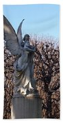 Girded By Trees, Light And An Angel Hand Towel