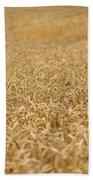 A Field Of Wheat Bath Towel