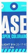Ase Aspen Luggage Tag II Bath Towel