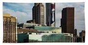 Atlanta Skyline 3 Bath Towel