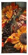 Autumn Bouquet Bath Towel