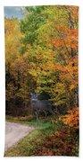Autumn Buck  Bath Towel by Patti Deters