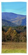 Autumn Colours In Great Smoky Mountains National Park Hand Towel