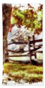 Autumn In Doughton Ap Bath Towel