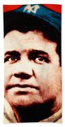 Babe Ruth, Portrait Hand Towel