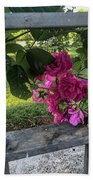 Bars Of Rose Hand Towel