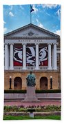 Bascom Hall - Madison - Wisconsin Bath Towel