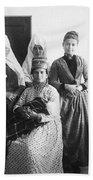 Bethlehem Women In 1886 Bath Towel